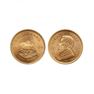 Krugerrand d'Oro Sud Africano